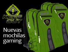 Nuevos modelos de mochilas gaming Keep Out para portátiles de hasta 17 pulgadas