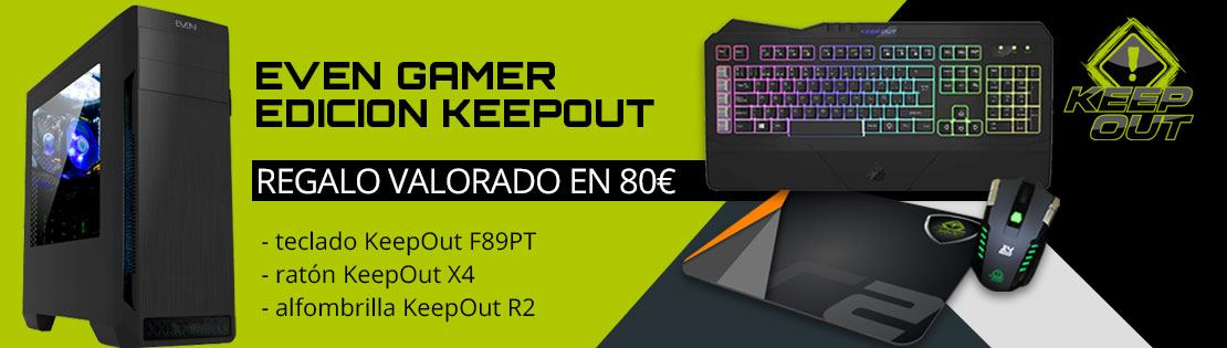 GAMER KEEPOUT