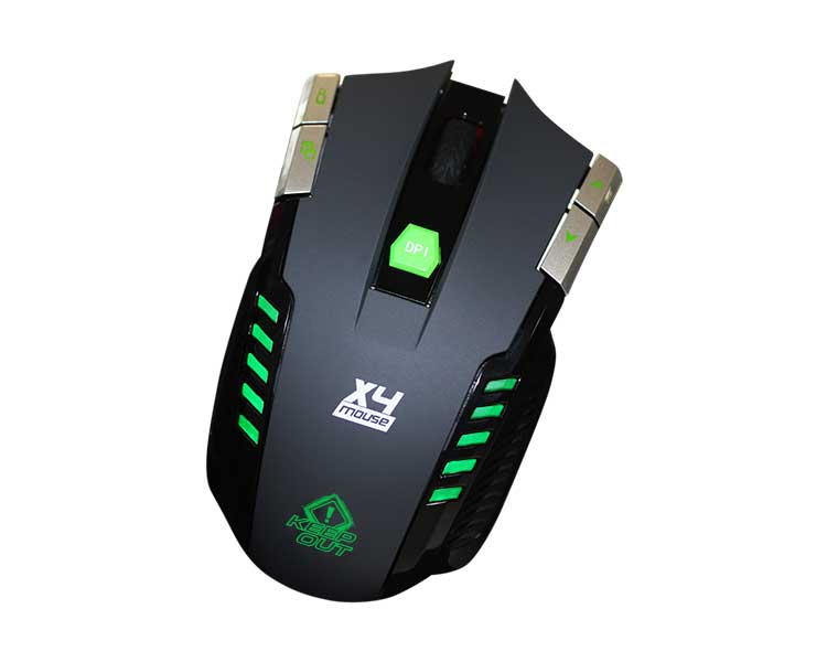 Ratón gamer Keepout X4