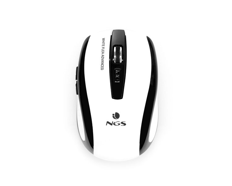 RATON NOTEBOOK WIRELESS FLEA ADVANCED WHITE NGS