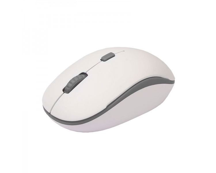 MOUSE OPTICAL WIRELESS WHITE/GREY APPROX