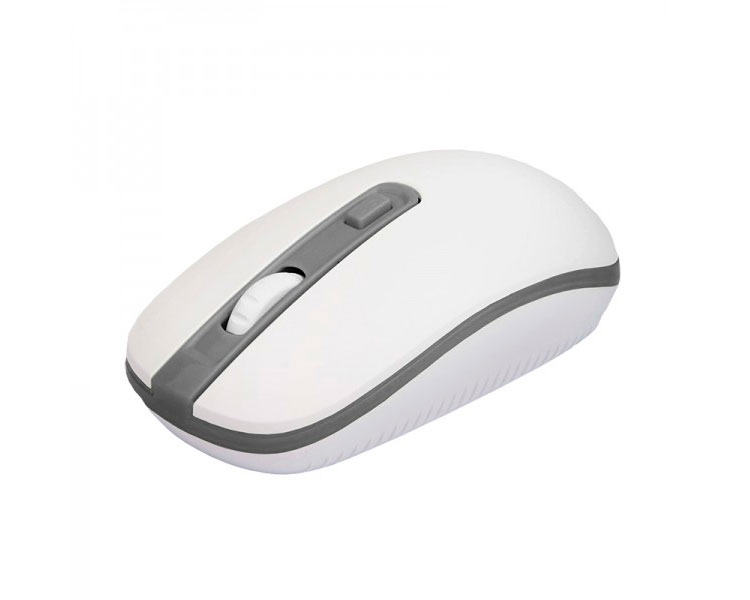 MOUSE OPTICAL VERSATILE WIRELESS WHITE/GREY APPROX