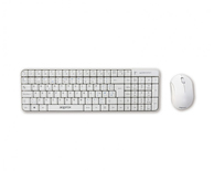 TECLADO WIRELESS + RATON OPTICO BLANCO APPROX