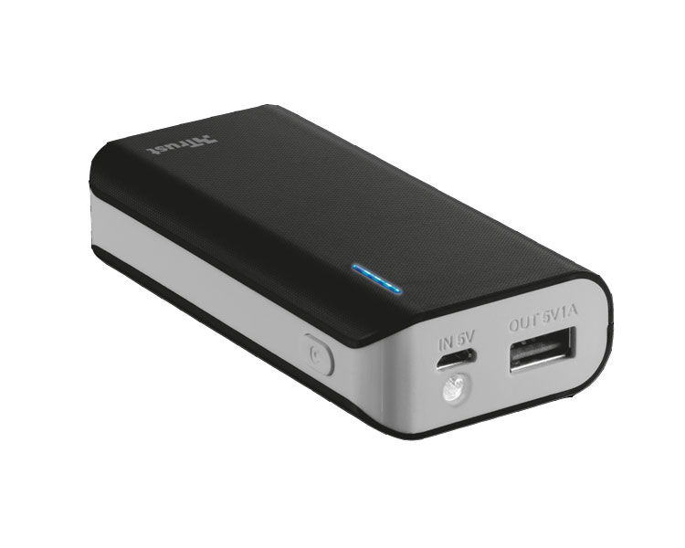 POWER BANK 4400mAh BLACK TRUST