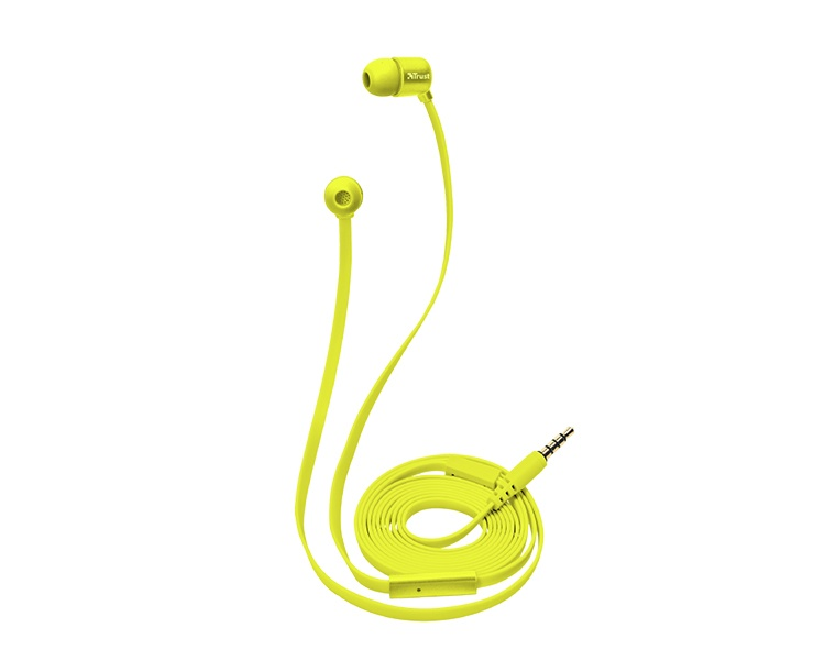 AURICULAR DUGA IN-EAR NEON YELLOW TRUST