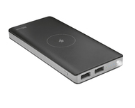 POWER BANK 8000mAh BLACK INALAMBRICA TRUST