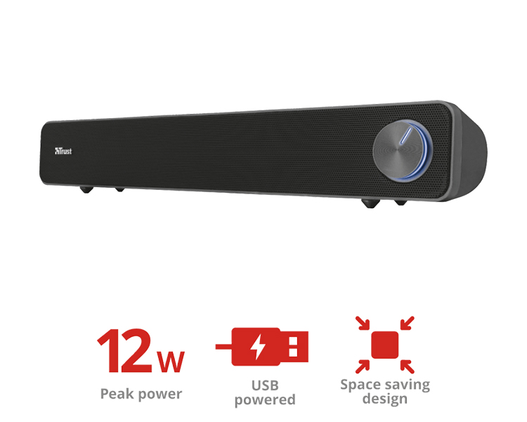 ALTAVOZ ARYS PC SOUNDBAR TRUST