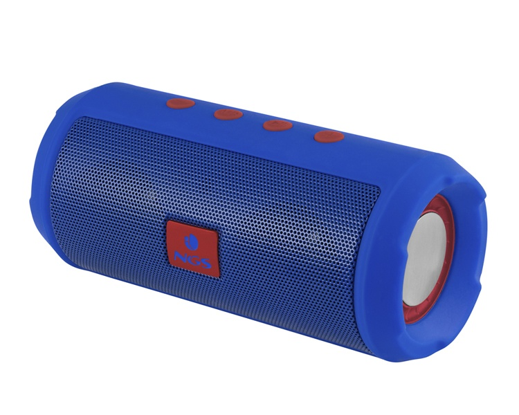 ALTAVOZ BLUETOOTH ROLLER TUMBLER BLUE NGS