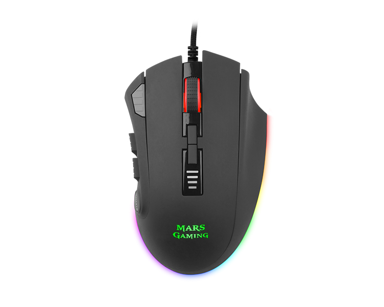 RATON GAMING MARS MM418 OPTICAL RGB BLACK