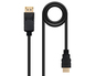 CONVERSOR DISPLAYPORT A HDMI 3 M BLACK NANOCABLE