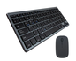 TECLADO + RATON WIRELESS DYNAMIC COMPACT GREY SUBBLIM