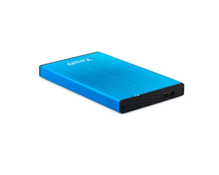 CAJA EXTERNA USB 2.5'' SATA 3.0 BLUE TOOQ