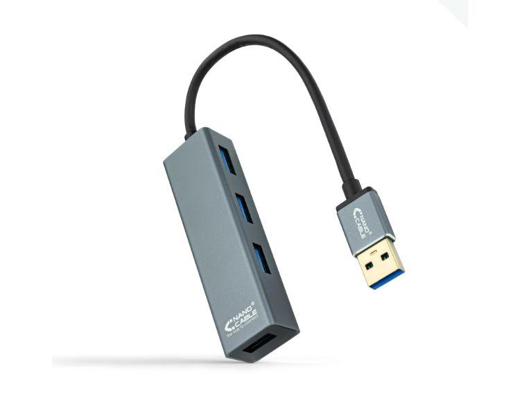 HUB 4 PUERTOS USB 3.0 NANOCABLE