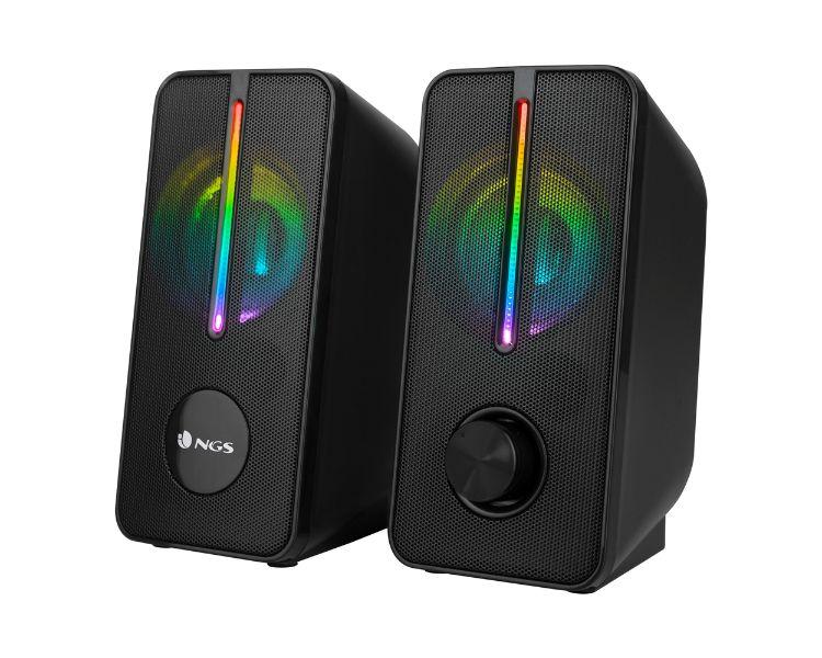 ALTAVOCES GAMING RGB GSX-150 BLACK NGS