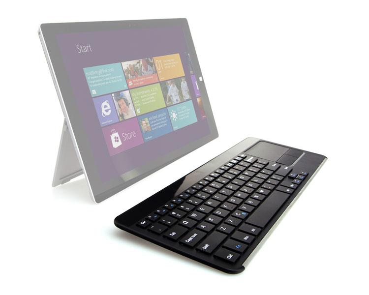TECLADO COMPACT TOUCHPAD WIRELESS LEOTEC
