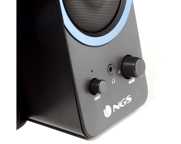 ALTAVOCES GAMING GSX-200 2.0 BLACK NGS