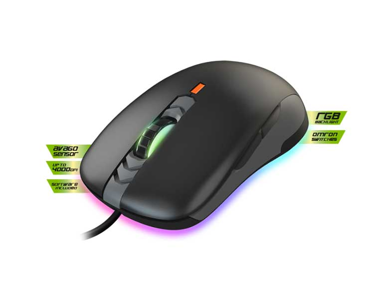 KEEPOUT GAMING LASER MOUSE X5 PRO