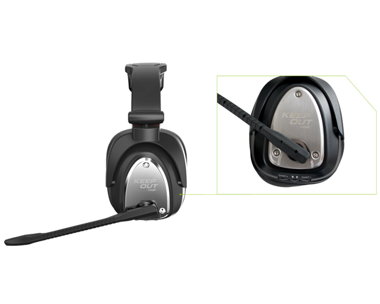 KEEPOUT AURICULAR GAMING 7.1 MULTIPLATAFORMA HXAIR