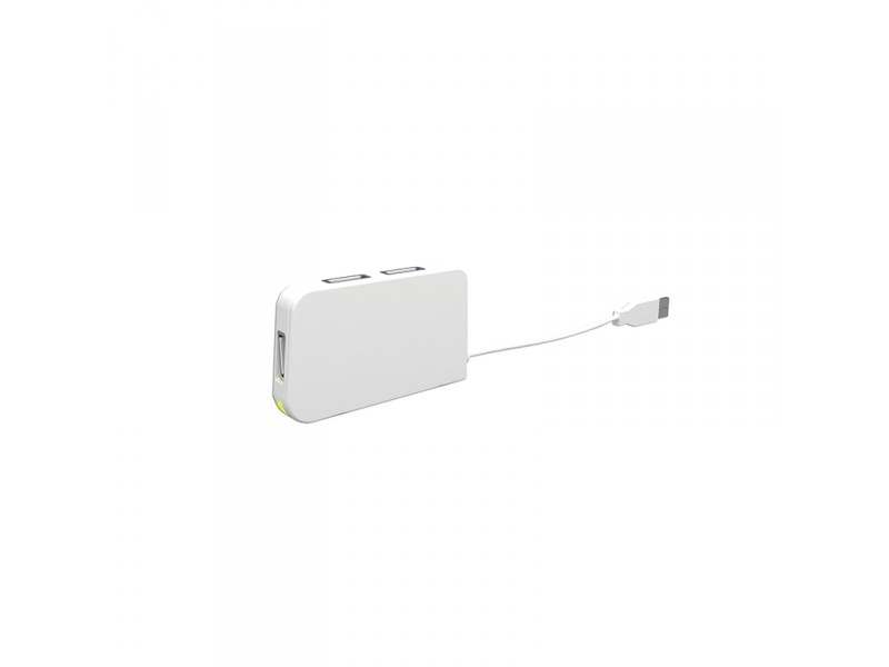 HUB 4 PUERTOS USB TRAVEL WHITE APPROX