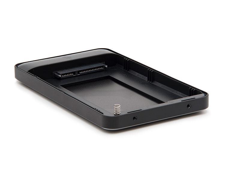 CAJA EXTERNA USB 2.5'' 9.5MM SATA NEGRO TOOQ